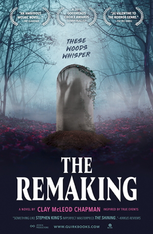 The Remaking paperback cover reveal!