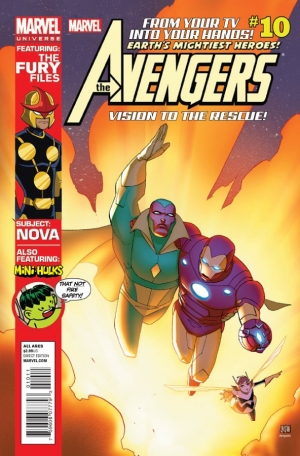 My new Avengers comic hits the shelves today!