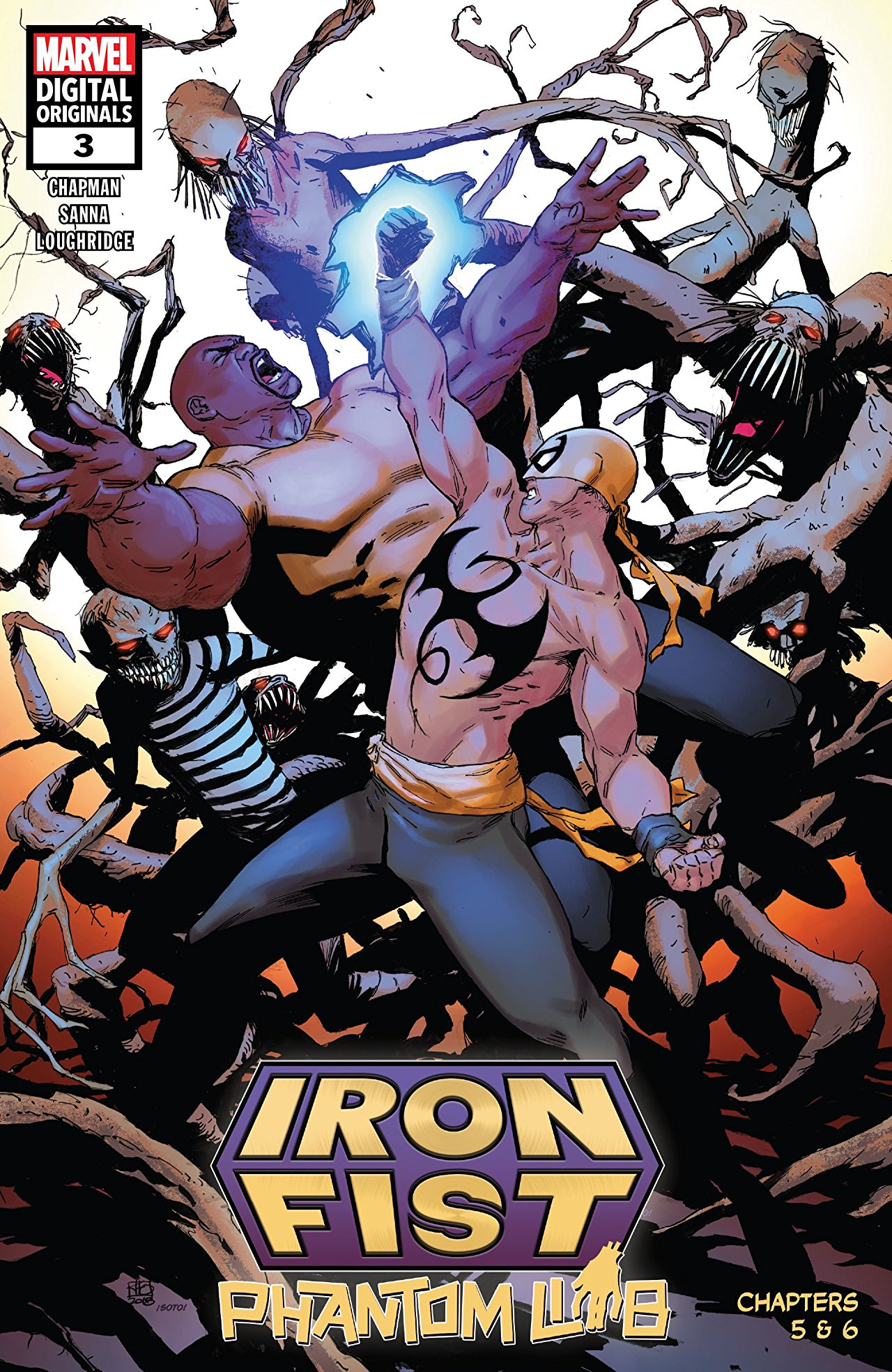 IRON FIST: PHANTOM LIMB #3
