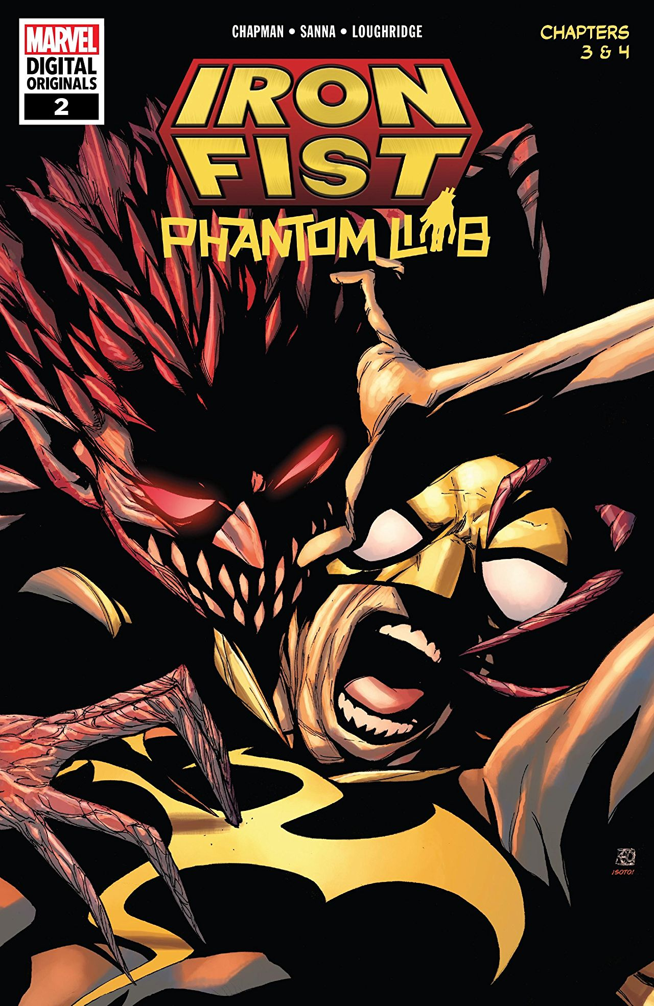 IRON FIST: PHANTOM LIMB #2